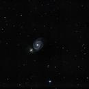 M51 sous la lune,                                Davy HUBERT
