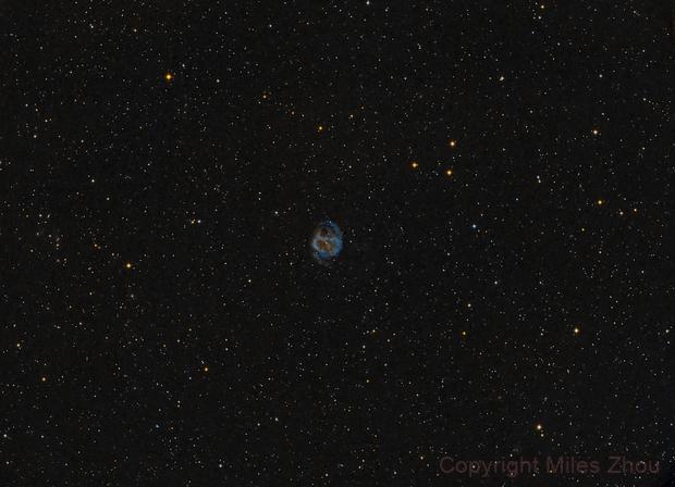 Abell 36 - a Planetary Nebula in Virgo,                                Miles Zhou