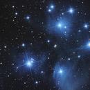 M45 - Ammasso delle Pleiadi,                                H-x6