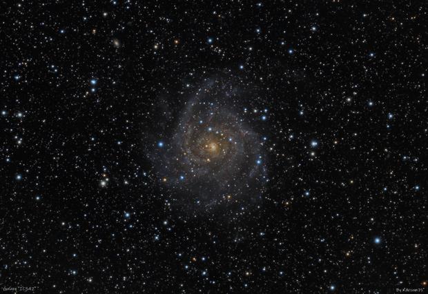 """IC 342 """"hidden"""" galaxy,                                Roberto Mosca"""