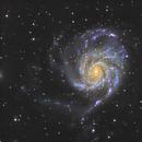 M101 pinwheel galaxy,                                Quentin Gineys