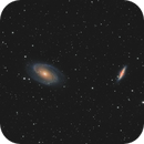 M81 - M82 pair from SQM18 - 45mins per color channel,                                Axel