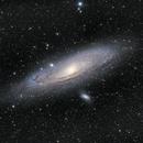 M31 the Great Andromeda Galaxy (2 Panel Mosaic),                                Jeremy Jonkman