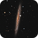 NGC 4517 Spiral Galaxies,                                Jerry Macon