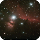 Horsehead Nebula and Flaming nebula,                                Kristof Dabrowski