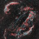 Veil Nebula (2 panel mosaic),                                Jeremy Jonkman
