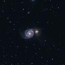 M51 Whirlpool Galaxy,                                Jeanfi