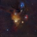 Antares - Rho Ophiuchi region,                                Andrea Storani