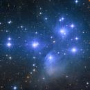 M45 - Pleiades Star Cluster,                                Svajūnas Stroinas