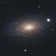 La galaxie M63,                                gabriel