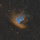 Pacman Nebula (NGC281),                                wowa