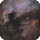 The North America Nebula - HOO combination,                                Julien Lana