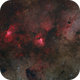 M16 and M17 Dust and Hydrogen in Serpens,                                Alberto Pisabarro