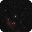 Ghost of Cassiopeia (IC69 - IC63) Hα-OIII,                                Roberto Frassi