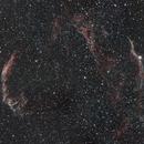 Veil Nebula NGC6960 NGC6962,                                Jaysastrobin
