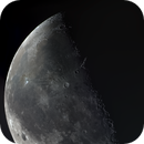 Moon 08.12.2020. Illumination 49,5%. Mosaic of 4 pictures.,                                Sergei Sankov