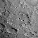 Clavius 80% waxing moon,                                turfpit