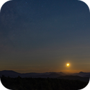 Moonset and Milkyway,                                Donnie Barnett