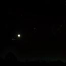 Venus – Moon – Jupiter Rising with Scorpius,                                Van H. McComas