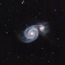 M51 - Whirlpool Galaxy,                                Gendra