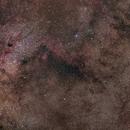 Milky Way Area Mosaic 1x2,                                Miles Zhou