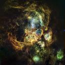 NGC6357 in HST palette,                                John Ebersole