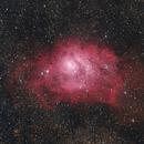M8 - The Lagoon Nebula,                                Ludger Solbach
