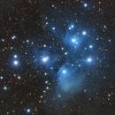 "NGC 1432 - The Pleiades,                                Sebastian ""BastiH..."
