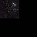 NGC 457,                                astrotaxi