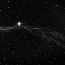 C34 Witch's Broom Nebula-OIII filter-B&W-HDR,                                Adel Kildeev