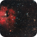 Gum 15 / RCW 32 and cluster NGC2671,                                Kevin Parker