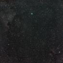 North America, Pelican, and Butterfly nebula around Deneb,                                StarGale