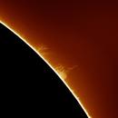 Tornado on the Sun,                                Chuck's Astrophot...