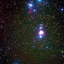 Orion with a telephoto lens-an experimental image,                                Lawrence E. Hazel