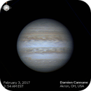 Jupiter Gif 2/3/17,                                Damien Cannane