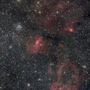 SH2-157, M52 and NGC7635,                                Yuichi Kawamoto