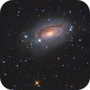 M63 La galaxie du tournesol - LRVB,                                Séb GOZE