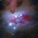 Sh2-279 The Running Man Nebula,                                John Hayes