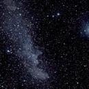 Witch Head nebula (1) with Canon 200mm f2.8 lens,                                KiwiAstro