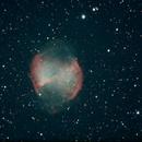 Dumbell Nebula,                                Robin Clark - EAA imager