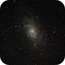 M33 first shot of just 36 minutes,                                Günther Dick