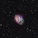 M1 Crab Nebula,                                AstroBadger