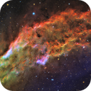 California Nebula in SHO-LRGB,                                equinoxx
