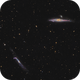 Whale and Hockey Stick Galaxies - NGC4656 and NGC4631,                                Arnaud Peel