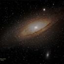 Andromeda Galaxy  M31,                                Al Bates