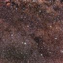 Old Data Cygnus region : Pentax K30 serial + Pentax 35mm f/2.4 open f/4.0 + O-GPS 1 astrotracer,                                patrick cartou