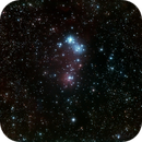 NGC2264 & NGC2261 / Christmas Tree Cluster, Cone Nebula & Hubble variable Nebula,                                Ferran Ginebrosa