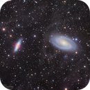 M81 and M82 Bode's Nebula in L(R+HA)GB,                                Kayron Mercieca