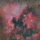 NGC 7000, IC 5070 (North America and Pelican Nebula),                                Jan Eliasek