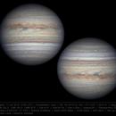 Jupiter 11 Jun 2018 - 6 min derotation,                                Seb Lukas